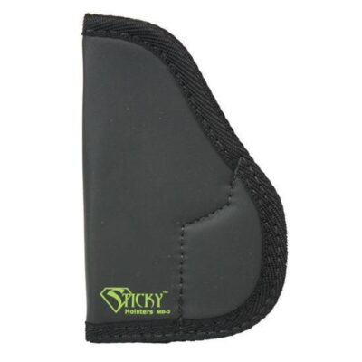 Sticky Holsters Holster for Small to Med frame .380 ACP/9mm or Similar Ambidextrous Black
