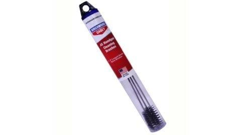 Birchwood Casey BWC Handgun Looped Nylon Cleaning Brushes Three Per Tube .44/.45 41208