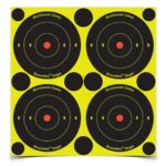 Birchwood Casey Shoot-N-C 3 in. Bulls-Eye Target – 48 Targets