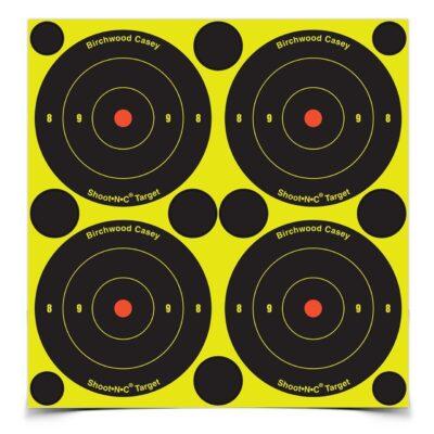 Birchwood Casey Shoot-N-C 3 in. Bulls-Eye Target - 48 Targets