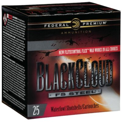 "Federal PWBX147BB Black Cloud 12 Gauge 2.75"" 1-1/8 oz BB Shot 25 Bx/ 10 Cs PWBX147BB"