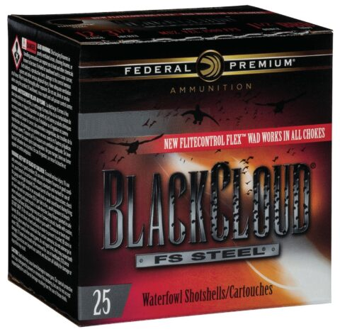 "Federal PWBX147BB Black Cloud 12 Gauge 2.75"" 1-1/8 oz BB Shot 25 Bx/ 10 Cs PWBX147BB"