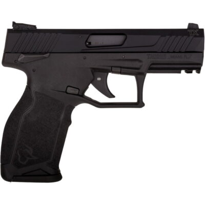 "Taurus TX22 .22 LR Semi Auto Pistol 4.1"" Threaded Barrel 16 Rounds Adjustable Rear Sight PTS Trigger Ergonomic Polymer Frame Black"