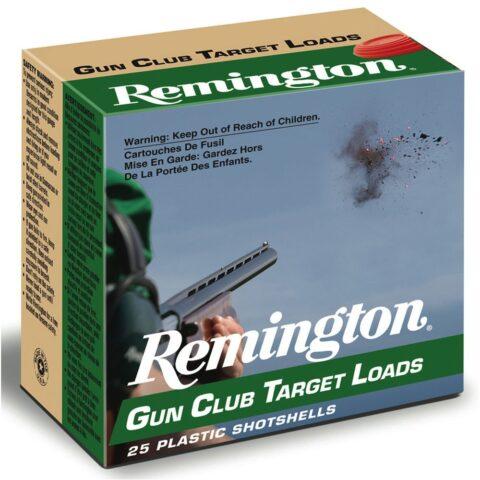 "Remington Gun Club Target Loads, 12-ga., 2-3/4"", 1-1/8 oz., #7.5"