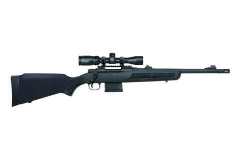 "Mossberg Rifle MVP PATROL SCOPE VORTEX CROSSFIRE II SCOPE 7.62 x 51mm | 308 Win Barrel 16.25"" Medium Bull Fluted BBL"