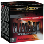 Federal Black Cloud 20ga 3-inch 25rds 2 shot PWBXD209-2