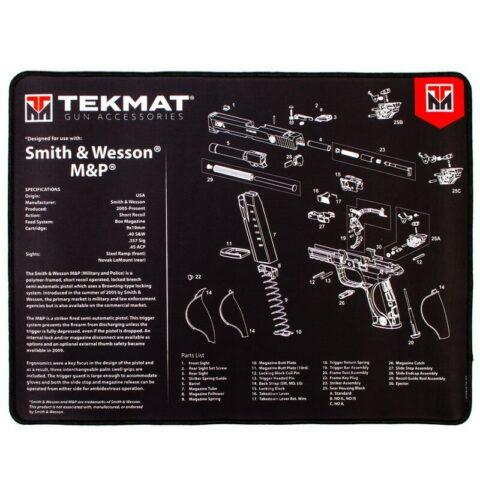 "TekMat Ultra Premium Gun Cleaning Armorer's Mat for Smith & Wesson M&P 15""x20"""