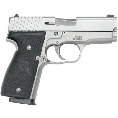 "Kahr Arms K40 Semi Auto Handgun .40 S&W 3.5"" Barrel 6 Rounds Fixed Sights Polymer Grips Matte Stainless Finish K4043"
