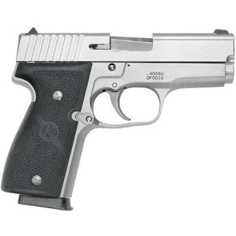 "Kahr Arms K40 Semi Auto Handgun .40 S&W 3.5"" Barrel 6 Rounds Fixed Sights Polymer Grips Matte Stainless Finish K4043"
