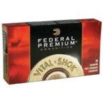 Federal V-Shok .270 Win 150 Grain SGM BTSP 20 Round Box