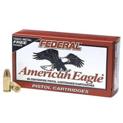 Federal American Eagle .40 S&W 180 Grain TMJ 50 Round Box