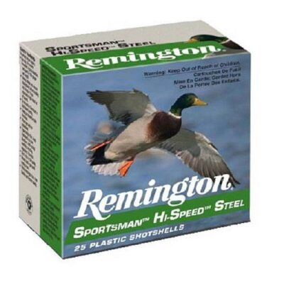 "Remington HiSpeed Steel 10ga 3-1/2"" BB 1-3/8oz 25"