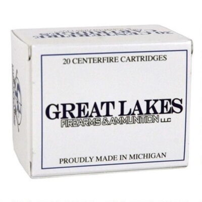 Great Lakes .45-70 Gov Remanufactured Ammunition 20 Rounds 300 Grain JHP
