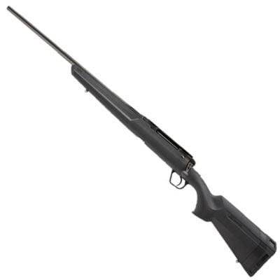 "Savage Axis Left Hand Bolt Action Rifle 6.5 Creedmoor 22"" Sporter Profile Barrel 4 Rounds Detachable Box Magazine Synthetic Stock Matte Black Finish"