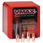 Hornady 6.5mm Caliber .264″ Diameter 95 Grain V-Max Polymer Tip Boat Tail Projectile 100 Per Box 22601