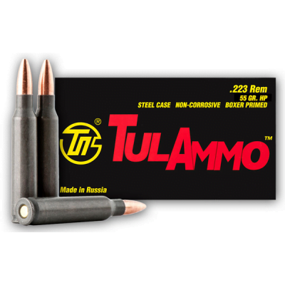 TulAmmo 223 Remington Ammunition 40rd 3241 FPS