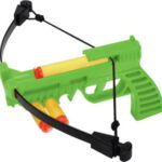 NXT GENERATION GREEN CROSSBOW PISTOL W/QUIVER & PROJECTILES