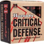 Hornady Critical Defense .25 Auto Ammunition 25 Rounds FTX 35 Grains
