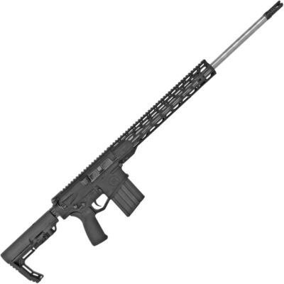 "Radical Firearms 6.5 Creedmoor AR Platform Semi Auto Rifle 24"" Barrel 10 Rounds 15"" Free Float M-LOK TMS Handguard MFT Minimalist Collapsible Stock Black"