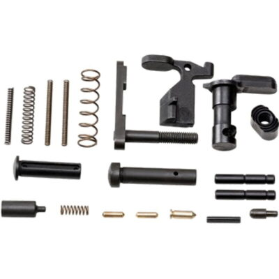 RISE Armament AR-15 Lower Parts Kit with No Trigger Black