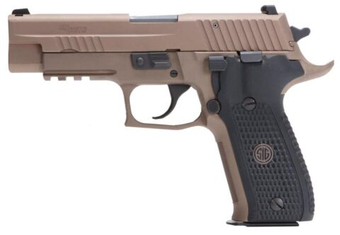 Sig P229 Emperor Scorpion Single/Double .40 S&W, FDE, SRT Trig, 2x15rd Mags