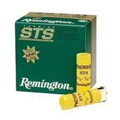 """Ammo 12 Gauge Remington Premier STS Light Handicap 2-3/4"""" #7.5 Lead 1-1/8 Ounce 25"""