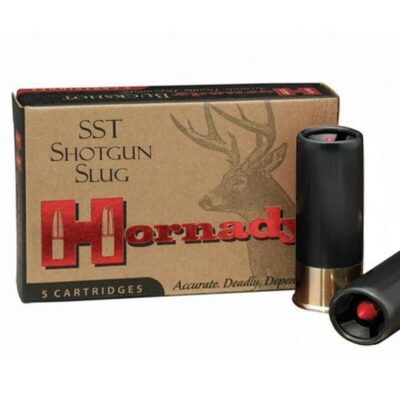 "Hornady 12 Gauge SST Slug Ammunition, 5 Rounds, 2.75"" 300 Grain FTX Sabot, 2000fps"