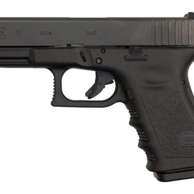 "Glock 19 Gen3 USA Made 9mm, 4"" Barrel, Black, 2 x 15rd Mag"