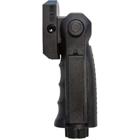 JE Machine Folding Vertical Grip with storage Compartment Black