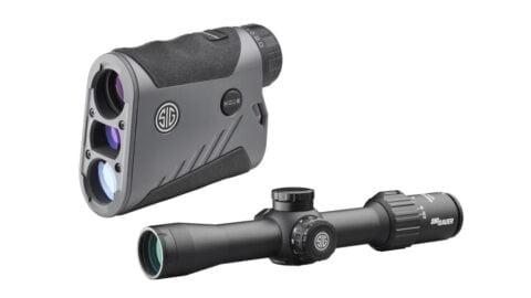 Sig Sauer BDX Combo Kit KILO1000BDX LRF and SIERRA3BDX Riflescope SOK10BDX01
