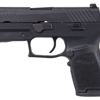 Sig Sauer 320C-9-B-LIMA-R P320 Compact 9mm 3.9in 15rd Black With Red Laser