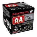 Winchester AA Target .410 2-1/2″ #9 Shot 1/2 oz 25 Rnd Box