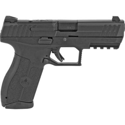 "IWI Masada 9mm Luger Semi Auto Pistol 4.1"" Barrel 17 Rounds 3-Dot Sights Ergonomic Polymer Frame Black Finish"