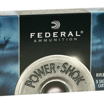 "FEDERAL 20GA 2.75"" MAX 3/4OZ HP POWER-SHOK SHOTSHELL AMMUNITION 5RDS - F203 RS"