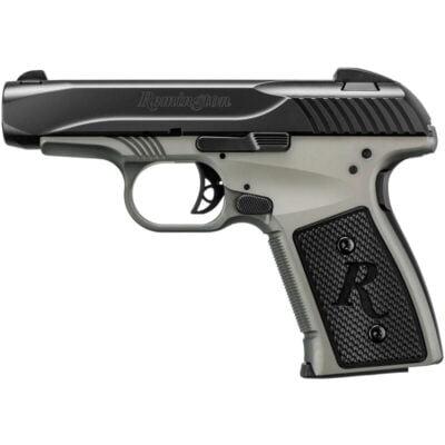 """Remington R51 Smoke/Silver 9mm Luger Semi Auto Pistol 7 rounds 3.4"""" Barrel Two Tone Black/Gray Finish"""