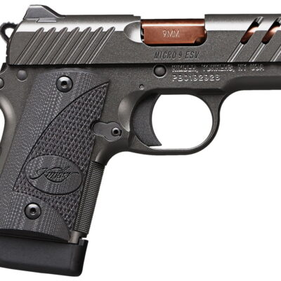 Kimber Micro 9 ESV Gray 9mm Carry Conceal Pistol with Ported Slide