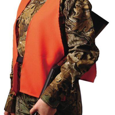 Hunter's Specialties Super Quiet Hunter's Safety Vest Polyester Blaze Orange One Size