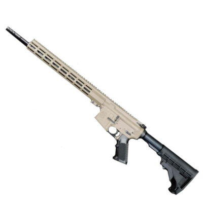 "Great Lakes GLFA AR15 Rifle .350 Legend 18"" Nitride 5RD M-Lok FDE G350FDE"