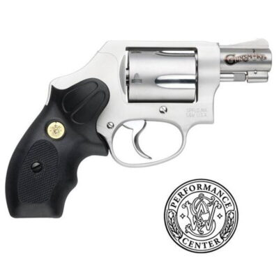 "S&W 637 Performance Center Wyatt Deep Cover Revolver .38 Special +P 1.87"" Barrel 5 Rounds Polymer Clip Grip Matte Stainless Finish 170347"