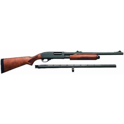 "Remington Model 870 Express Combo Pump Shotgun 20 Gauge 26"" and 20"" Barrel 3"" Chamber Satin Laminate Stock"