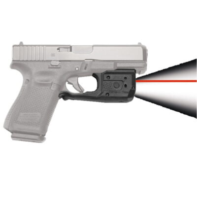 Crimson Trace LaserGuard Pro Light/Laser Combo GLOCK Full Size/Compact Models 150 Lumen LED White Light/5mW Red Laser Polymer Housing Matte Black
