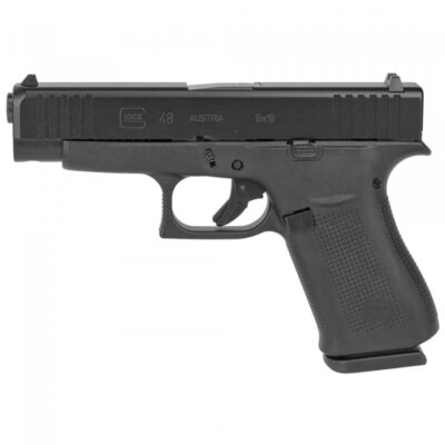 Glock 48 9mm 10-Round Pistol with Black Finish