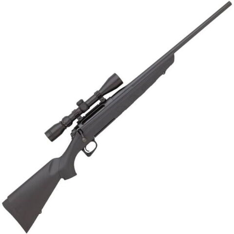 """Remington Model 770 Bolt Action Rifle .243 Win 22"""" Barrel Length 4 Round Capacity Black Synthetic Stock Blued Finish with 3-9x40 Scope 85630"""