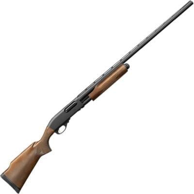"Remington 870 Express Trap 12 Gauge Pump Action Shotgun 30"" Barrel 3"" Chamber 4 Rounds Hardwood Stock and Forend Matte Black Finish"