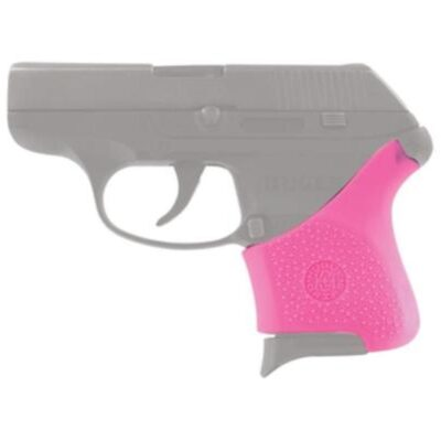 Hogue Handall Hybrid Grip Sleeve For Ruger LCP Pink
