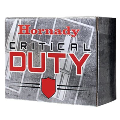 Hornady Critical Duty .357 Magnum Ammunition 25 Rounds 135 Grain FlexLock Polymer Tip Flat Base Projectile 1275fps