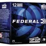 """Federal Top Gun 12 Gauge Ammunition TGSF1288 2.75"""" 1oz 8 Shot 25 Rounds"""