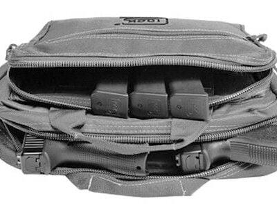 Details about Glock OEM Gray Range Bag Gun Bag (Two Pistol) NEW STYLE