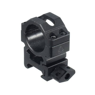 """UTG 1"""" Two Piece Medium Pro Max Rings Black RG2W1154"""