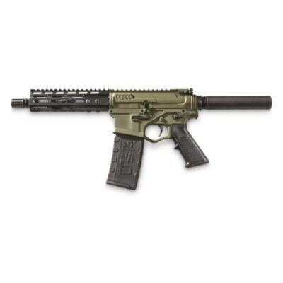 """ATI Omni Hybrid Maxx P4 AR Pistol, Semi-Automatic, 5.56 NATO/.223 Rem., 7.5"""" Barrel, 30+1 Rounds"""